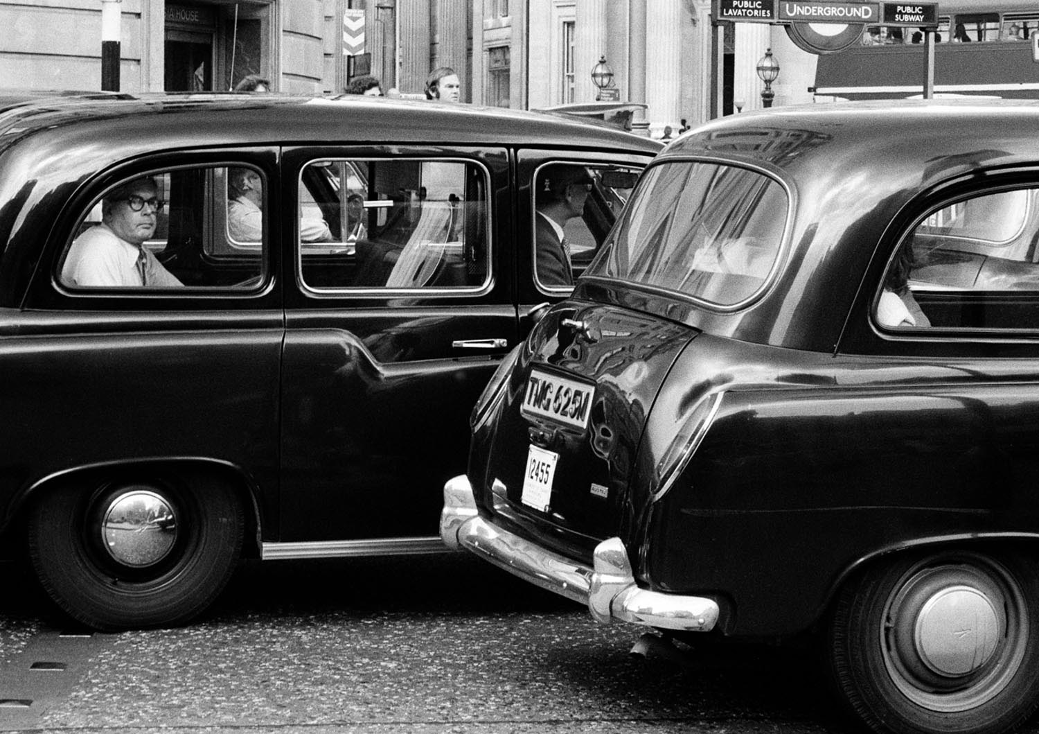 London's Taxis, Le regard