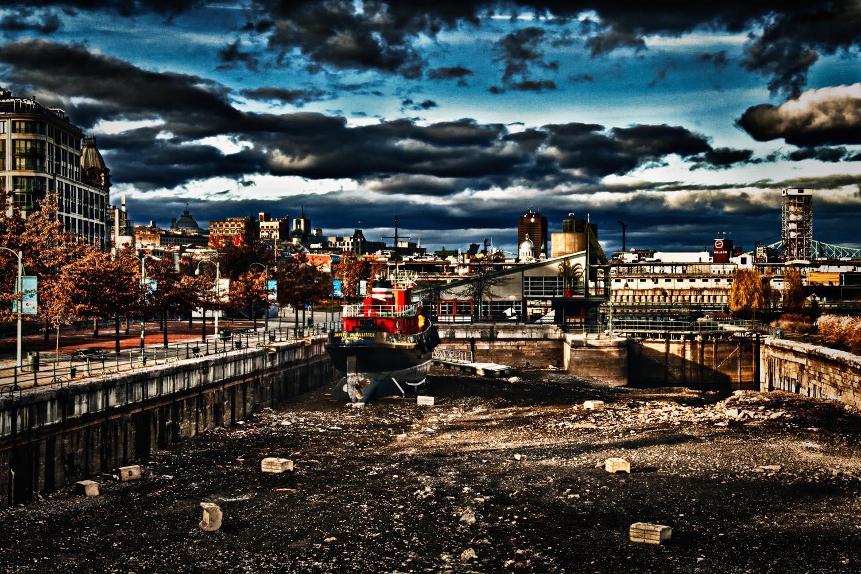 L'écluse du Vieux-Montréal