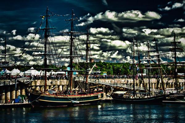 La Bounty au Vieux-Port de Montréal