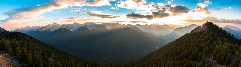 Panorama du Sundance Peak