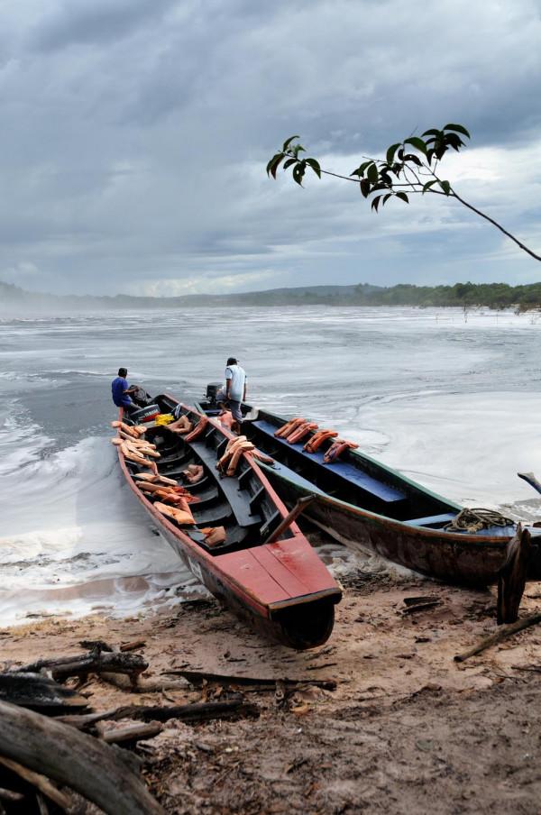 Canoe al Salto el Sapo