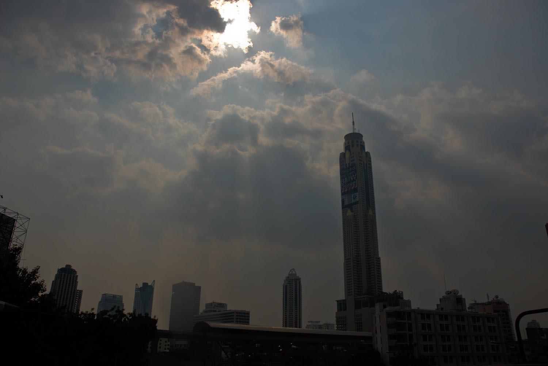 Vue de Bangkok